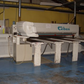 Giben Prismatic Beam saw 3.8m Image 1