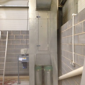 Dust Pollution System extraction cabinet Image 1