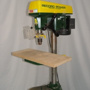 RECORD RPD12 vertical pedestal drill Image 1