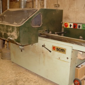 SCM P4F four sided planer Image 1