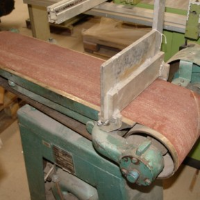 COOKSLEY flat bed sander / linesher Image 1