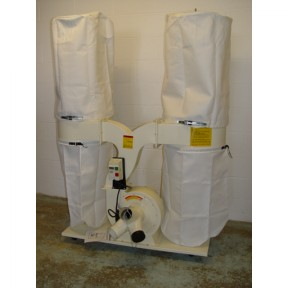 New 2 Bag dust extractor Image 1